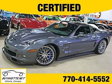 2011 chevrolet Corvette ZR1 Coupe for sale 101014492