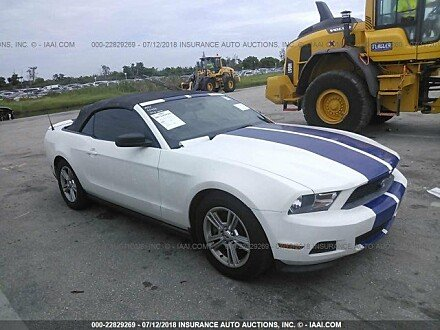 2011 ford Mustang Convertible for sale 101015752