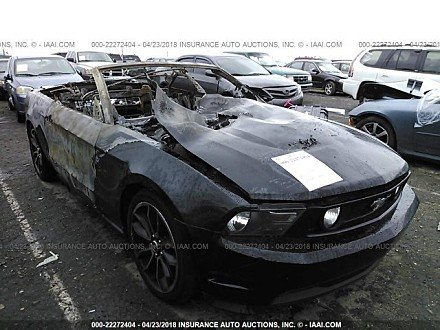 2011 ford Mustang GT Convertible for sale 101015772