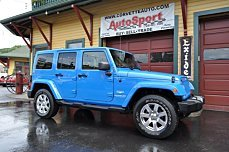 2011 jeep Wrangler 4WD Unlimited Sahara for sale 101007080