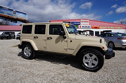 2011 jeep Wrangler 4WD Unlimited Rubicon for sale 101020859