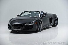 2012 Audi R8 5.2 Spyder for sale 100840504