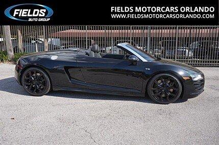 2012 Audi R8 5.2 Spyder for sale 100847175