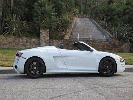 2012 Audi R8 5.2 Spyder for sale 100897347