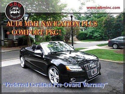 2012 Audi S5 3.0T Premium Plus Cabriolet for sale 100999719