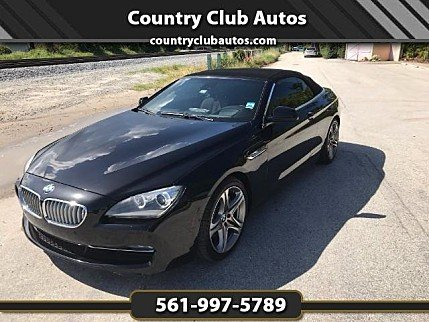 2012 BMW 650i Convertible for sale 100925165