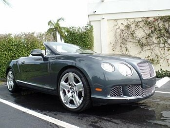 2012 Bentley Continental GT Convertible for sale 100735366