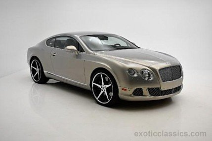 2012 Bentley Continental GT Coupe for sale 100854107
