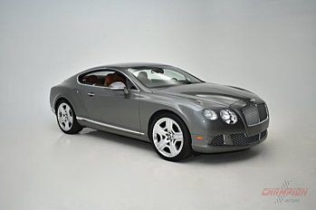 2012 Bentley Continental GT Coupe for sale 100916107