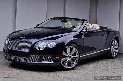 2012 Bentley Continental GT Convertible for sale 100954074