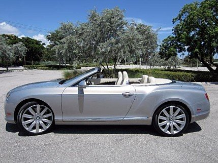 2012 Bentley Continental GT Convertible for sale 100995766