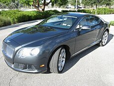 2012 Bentley Continental GT Coupe for sale 101044552
