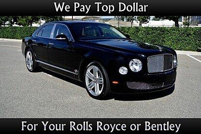 2012 Bentley Mulsanne for sale 100794518