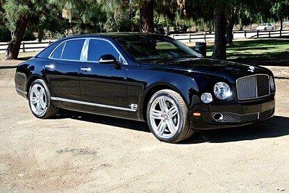 2012 Bentley Mulsanne for sale 100958746