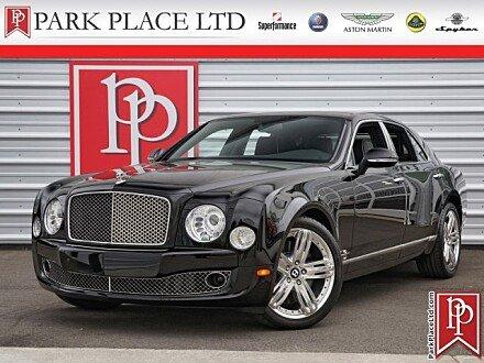 2012 Bentley Mulsanne for sale 100974425