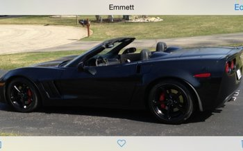 2012 Chevrolet Corvette Grand Sport Convertible for sale 100754723