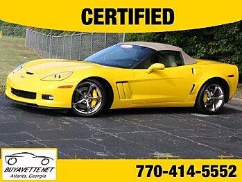 2012 Chevrolet Corvette Grand Sport Convertible for sale 100772052