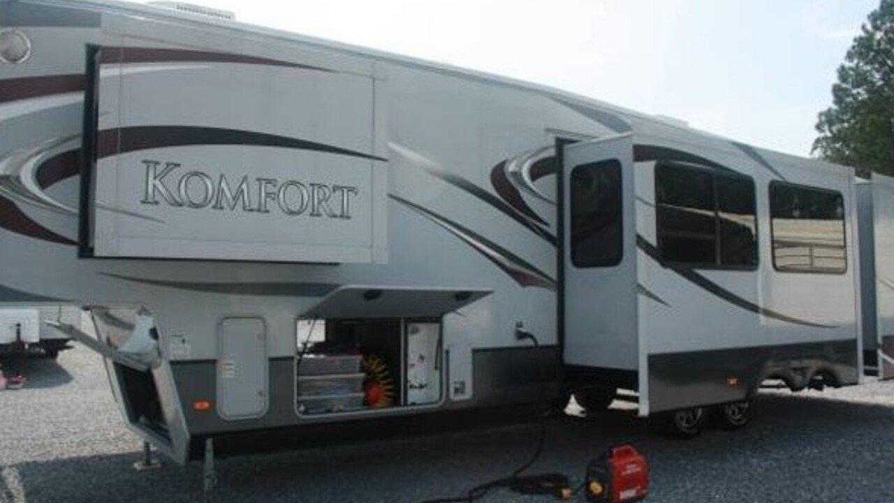 2012 Dutchmen Komfort for sale near Woodland Hills, California 91364 ...