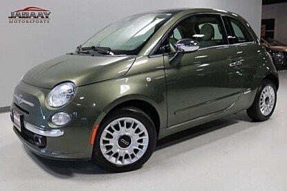 2012 FIAT 500 Lounge Hatchback for sale 101032844