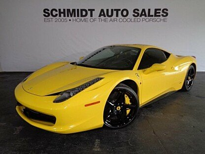 2012 Ferrari 458 Italia Coupe for sale 100768563
