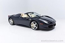 2012 Ferrari 458 Italia Spider for sale 100775094