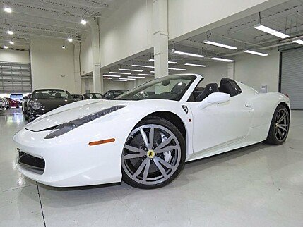 2012 Ferrari 458 Italia Spider for sale 100909655