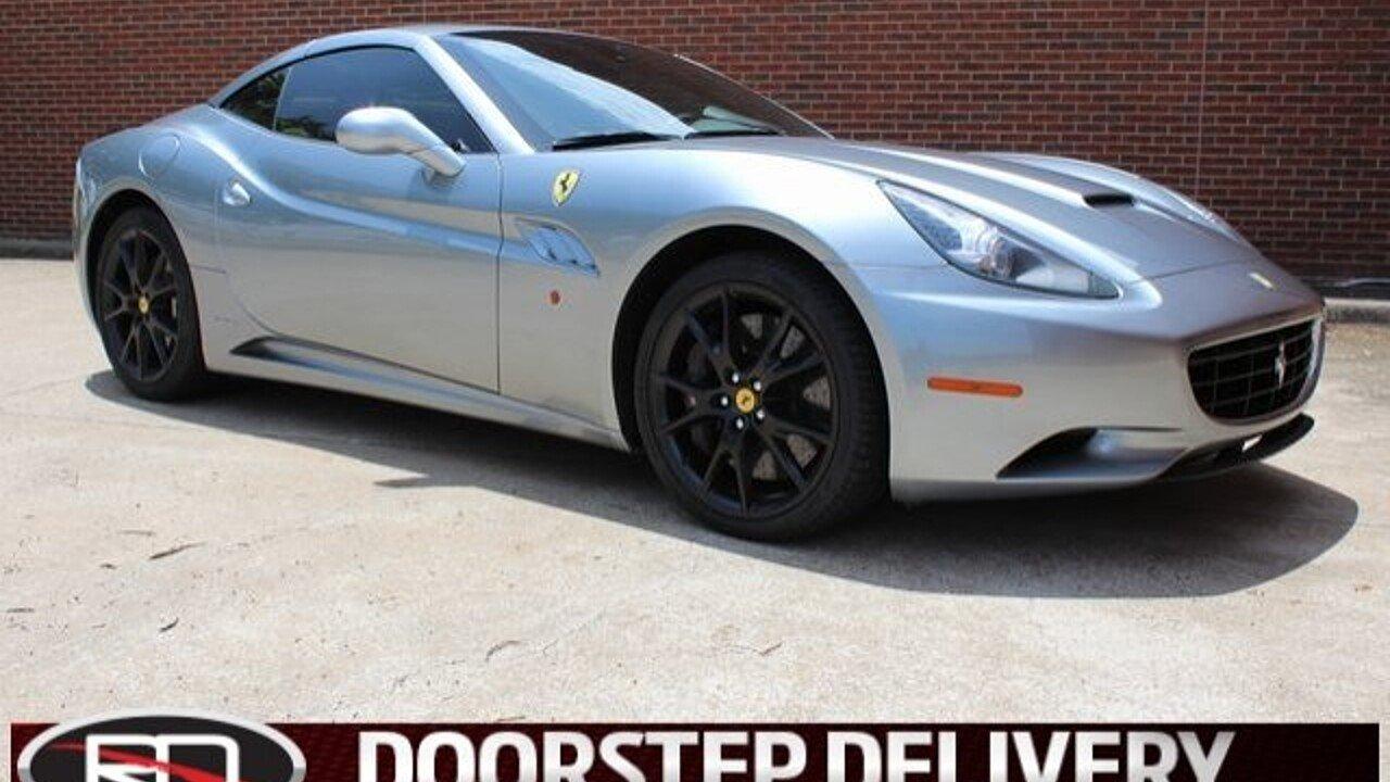 2012 Ferrari California for sale 101001598