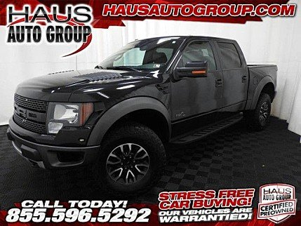 2012 Ford F150 4x4 Crew Cab SVT Raptor for sale 100789386