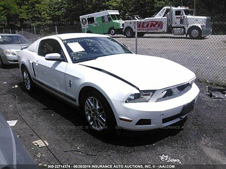2012 Ford Mustang Coupe for sale 101015687