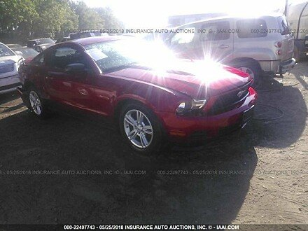 2012 Ford Mustang Coupe for sale 101015702