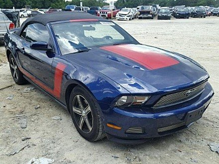 2012 Ford Mustang Convertible for sale 101042876