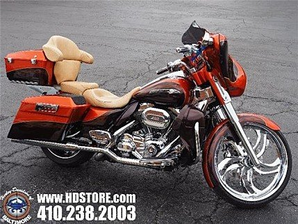 2012 Harley-Davidson CVO for sale 200560096