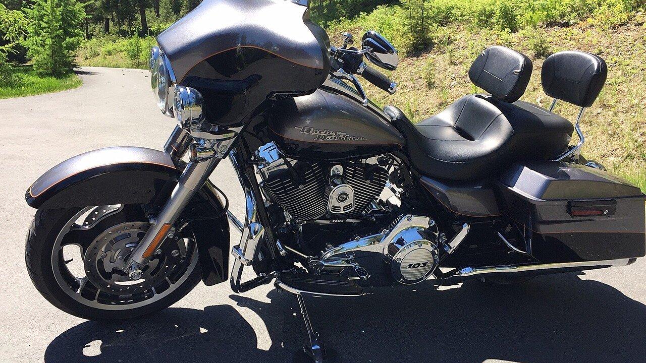 2012 Harley Davidson Touring Street Glide 103 For Sale Near 200462878