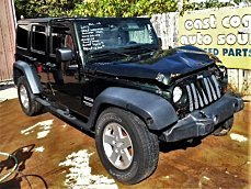 2012 Jeep Wrangler 4WD Unlimited Sport for sale 100749695