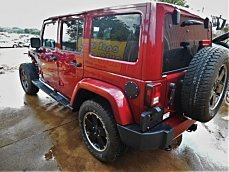 2012 Jeep Wrangler 4WD Unlimited Sahara for sale 100749787