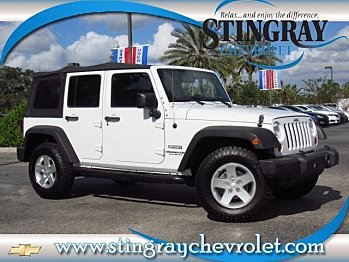 2012 Jeep Wrangler 4WD Unlimited Sport for sale 100919187