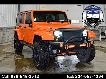 2012 Jeep Wrangler 4WD Unlimited Sahara for sale 100922884