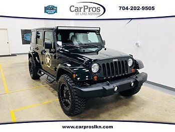 2012 Jeep Wrangler 4WD Unlimited Sahara for sale 100945003