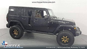 2012 Jeep Wrangler 4WD Unlimited Rubicon for sale 101024571