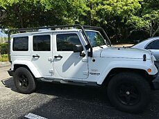 2012 Jeep Wrangler 4WD Unlimited Sahara for sale 100772996