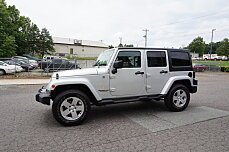 2012 Jeep Wrangler 4WD Unlimited Sahara for sale 100882010