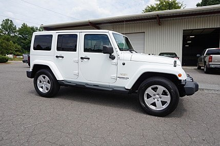 2012 Jeep Wrangler 4WD Unlimited Sahara for sale 100898101