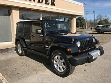 2012 Jeep Wrangler 4WD Unlimited Sahara for sale 100925967
