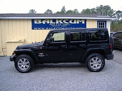 2012 Jeep Wrangler 4WD Unlimited Sahara for sale 100946218