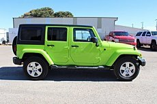 2012 Jeep Wrangler 4WD Unlimited Sahara for sale 100962129