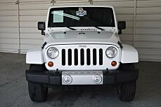 2012 Jeep Wrangler 4WD Unlimited Sahara for sale 100974813