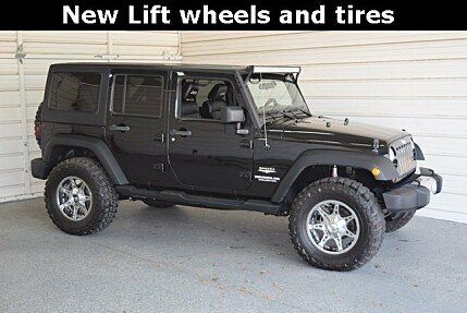2012 Jeep Wrangler 4WD Unlimited Sahara for sale 100978552