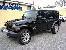 2012 Jeep Wrangler 4WD Unlimited Sahara for sale 100979601