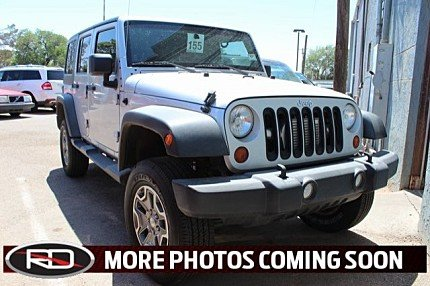 2012 Jeep Wrangler 4WD Unlimited Sport for sale 100982020