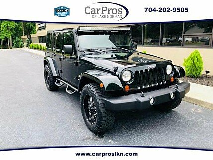 2012 Jeep Wrangler 4WD Unlimited Sahara for sale 100989973